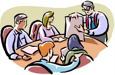Risultati immagini per immagine riunione a scuola